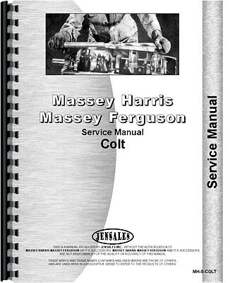 Massey Harris Colt Tractor Service Manual