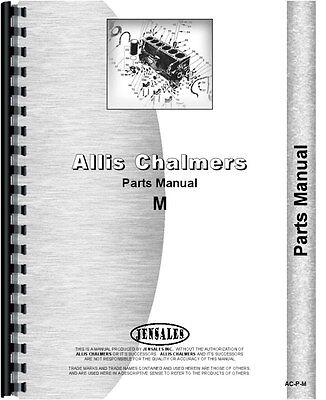 Allis Chalmers M Crawler Parts Manual All Sns