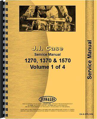 Case 1270 1370 1570 Diesel Tractor Service Manual Ca-s-12701370