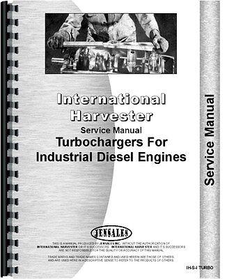 International Harvester Turbo Charger 150 Td25c Td8e Td9 Service Manual