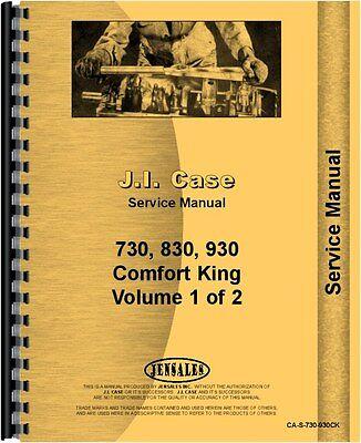 Case 730 830930 Series Tractor Service Manual Ca-s-730-930ck