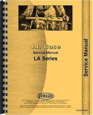 Case La Tractor Service Manual Ca-s-lalae
