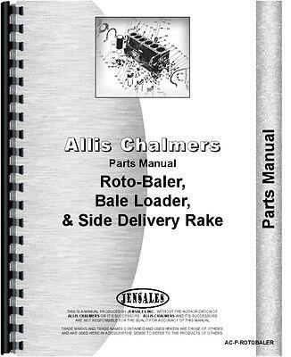 Allis Chalmers Baler Parts Manual Ac-p-rotobaler