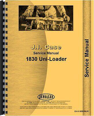 Case 1830 Uniloader Service Manual Ca-s-1830unilr