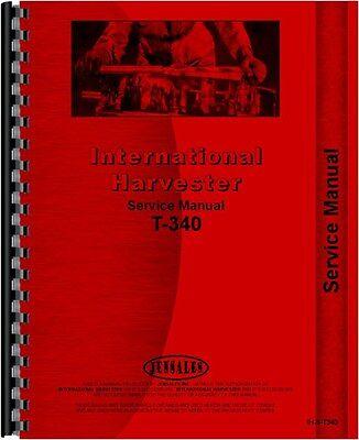 International Harvester Crawler Service Manual Ih-s-t340
