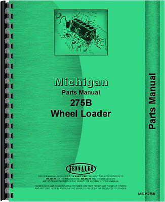 Michigan 275 275b Wheel Loader Parts Manual