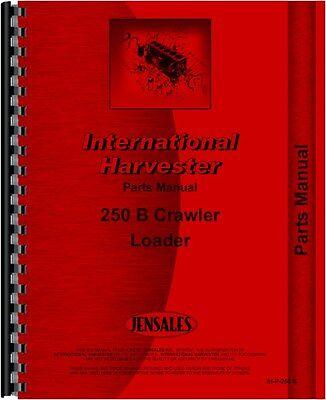 International Harvester 250b Crawler Parts Manual