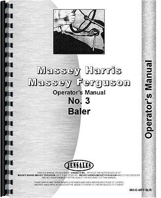 Massey Ferguson 3 Baler Operators Manual
