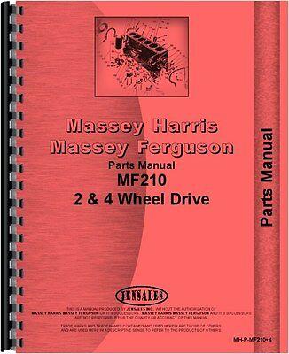Massey Ferguson 210 Tractor Parts Manual Mh-p-mf2104