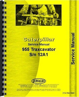 Service Manual Caterpillar 955 Traxcavator Sn 12a1