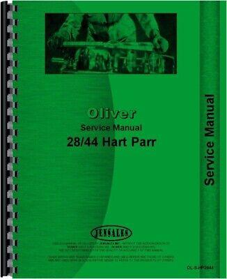 Oliver Hart Parr 28-44 Tractor Service Repair Manual