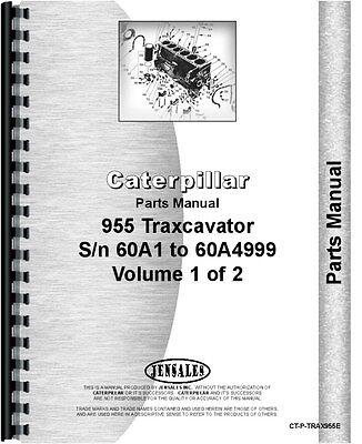 Caterpillar 955 Traxcavator Parts Manual Sn 60a1-60a4999