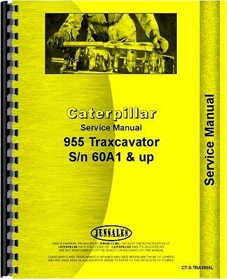 Caterpillar 955 Traxcavator Service Manual Sn 60a1 And Up