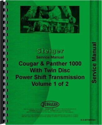 Steiger Cougar Cr Kr Kp 1225 1280 Cp 1325 1360 1400 Tractor Service Manual