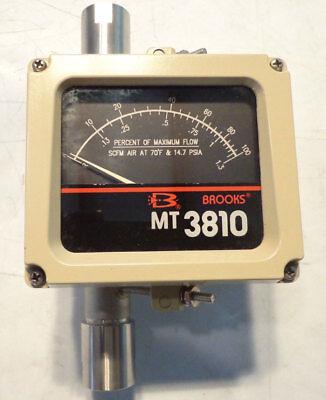 Brooks Armored Metal Tube Rotometer Mt3810