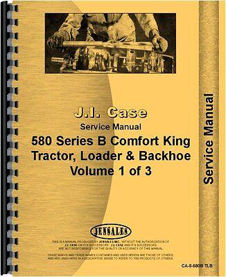 Case 580b Tractor Loader Backhoe Service Manual