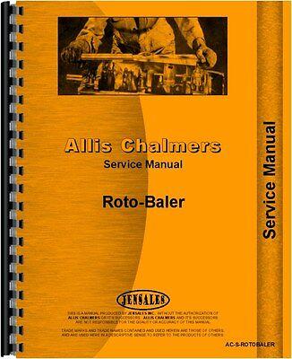 Allis Chalmers Rotobaler Baler Service Manual