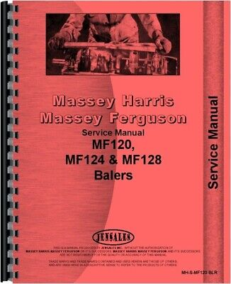 Massey Ferguson 128 120 124 Baler 126 130 Service Manual