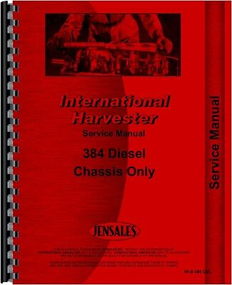 International Harvester 384 Tractor Service Manual
