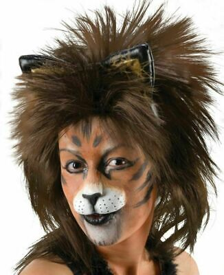 Kitten Nose Halloween (Kitten Cat Lion Nose Pre painted white theatrical)