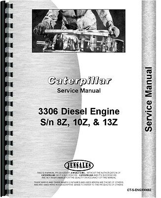 caterpillar 3306 engine service manual ct-s-eng33068z