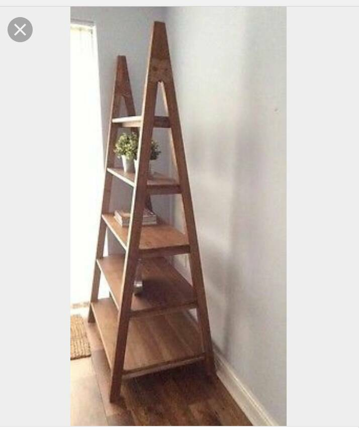 Laura Ashley Sherwood A frame Ladder Shelving unit