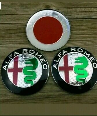 Genuine Boot Badge Emblem  60690947 Brand New Original Alfa Romeo GT Trunk