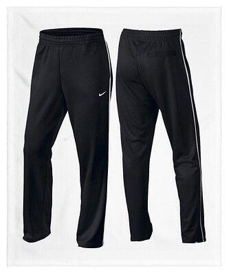 MEN'S NIKE STRIKER TRACK ATHLETIC PANTS SIZE 2XL 717280 010 BLACK/ WHITE NWT