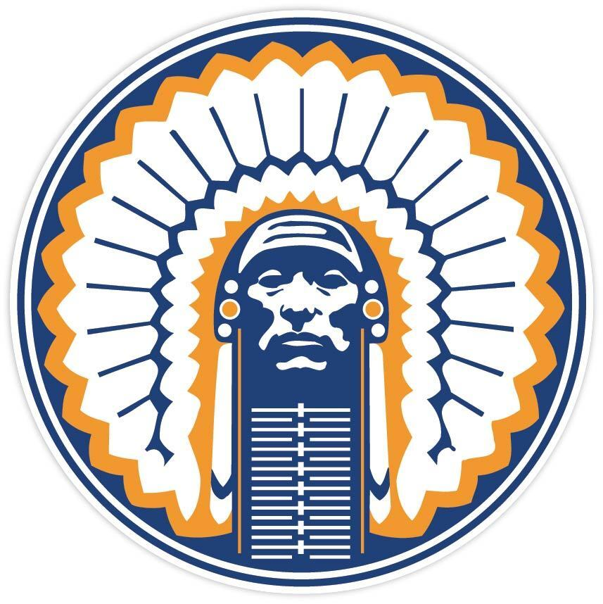 Home Decoration - Illinois Fighting Illini NCAA Vinyl Sticker Decal *SIZES* Wall CornholeTruck Car
