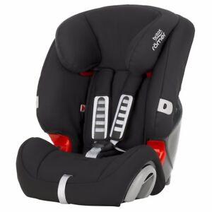 Britax Romer Evolva Car Seat, Group 1/2/3 - Cosmos Black