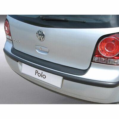 VW Polo IV 9N//9N3 2003-2009 Rear Bumper Guard Scratch Protector in Black