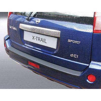 RGM Rear Black Bumper Protector For Nissan X-Trail 2003-2007