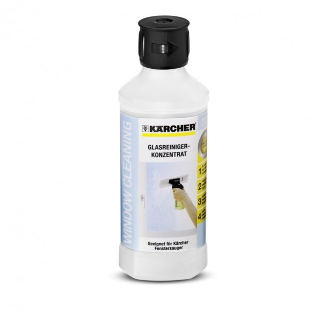 KARCHER  WINDOW VAC, WV 5 PLUS NSCK GLASS CLEANER CONCENTRATE 500ML RM500