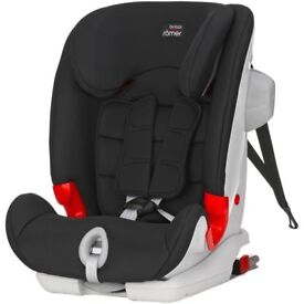 BRAND NEW Britax Romer Advansafix II SICT Highback Booster ISOFIX Car Seat - RRP £230