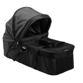 BabyJogger City Mini Compact Carrycot Bassinet Newborn to 6 mths Black+Adapters