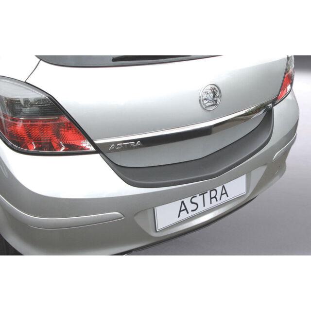 RGM Rear Black Bumper Protector For Vauxhall Astra H Mk5 3 Door 2005 - 2011