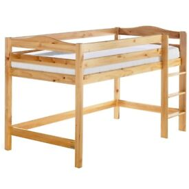 Izziwotnot Tempo high bed - Child's bed - wooden frame bed