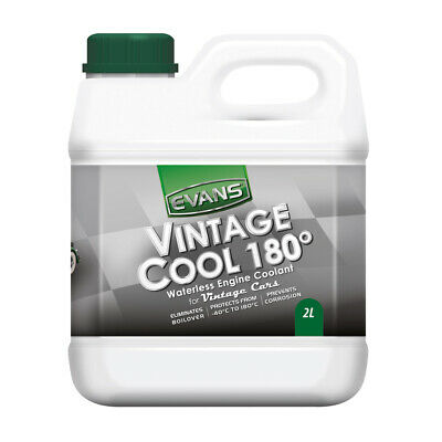 Evans Vintage Cool 180 Waterless Engine Coolant - 2 Litres / 2 Litre / 2 L