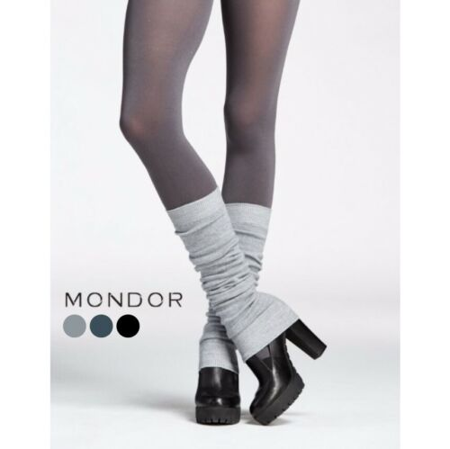 "Mondor® Dance & Figure Skating Adult Solid Merino Wool 23"" LEG WARMERS 3 Colors"