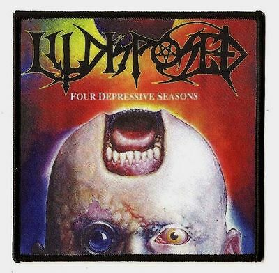 ILLDISPOSED - Four Depressive Seasons  [Printed Patch] online kaufen