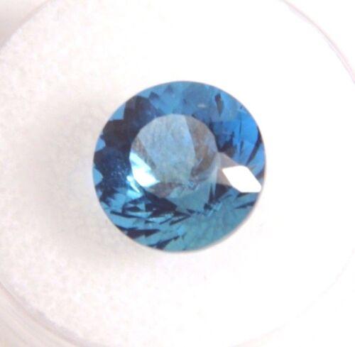 Blue Obsidian (Round, Trillion, Oval) Natural Gemstone VVS