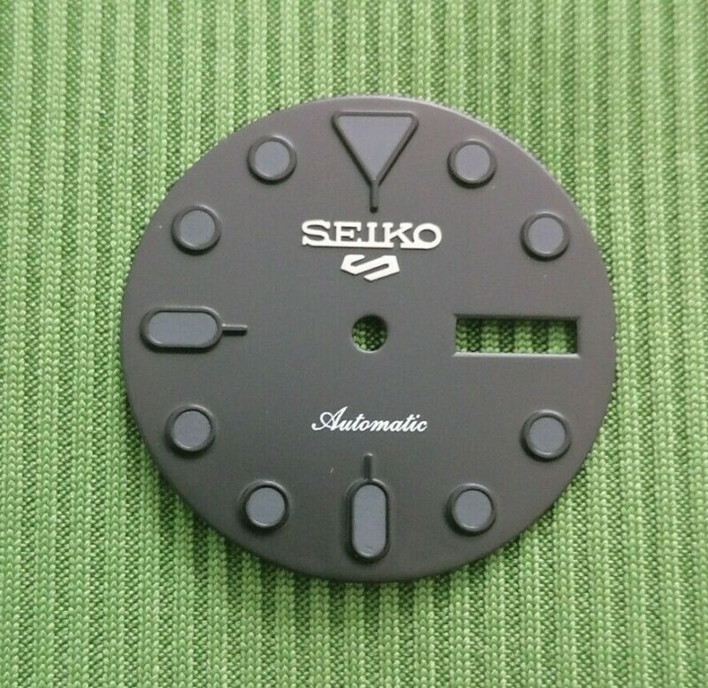 BLACK LUME DIAL FOR SEIKO SUBMARINER DIVER WATCH FITS SEIKO NH36 MOVEMENT
