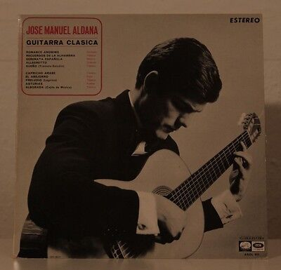 Jose Manuel Aldana - Guitarra Classica - Estereo J063- 20.139