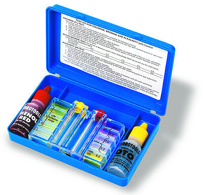 HydroTools 8420 Deluxe Two Way Swimming Pool Spa Chlorine Water Testing Test Kit
