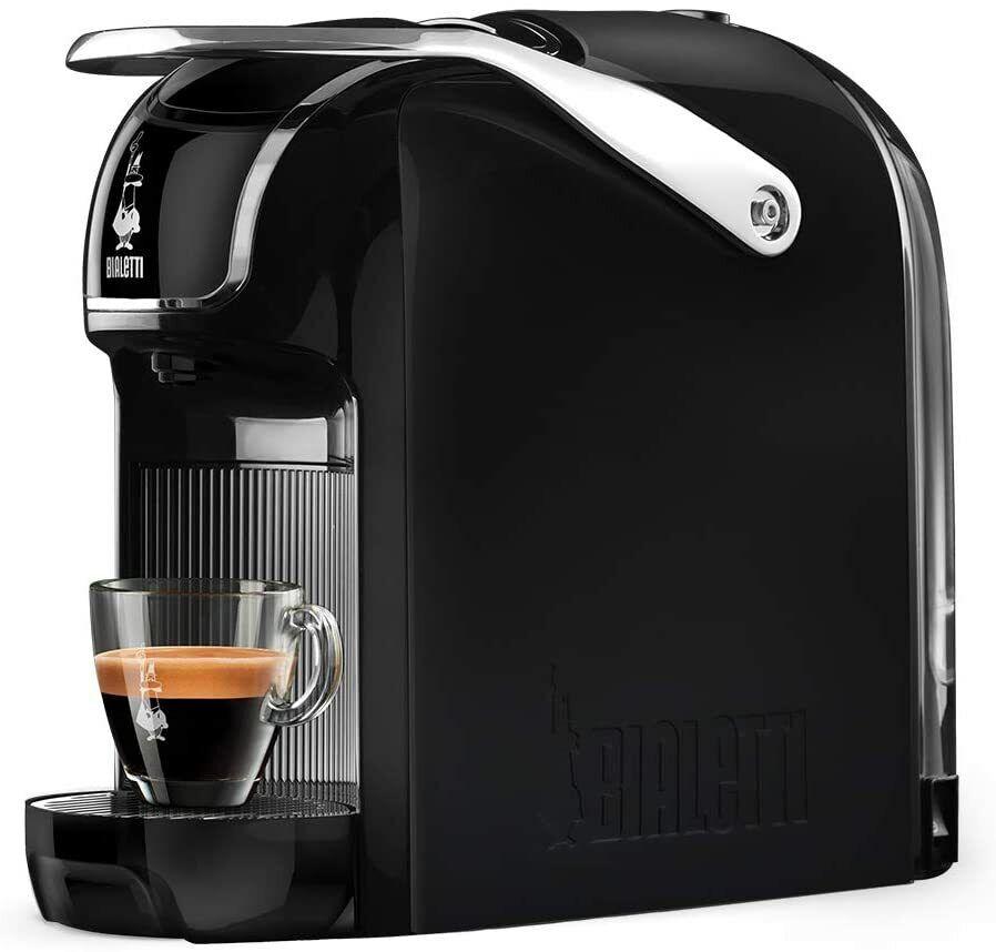Bialetti break macchina caffè espresso per capsule in alluminio Bialetti nera