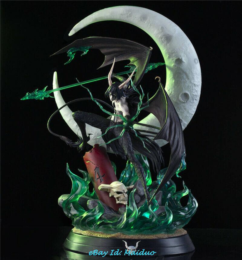 Queen Studio QS Bleach Ulquiorra cifer GK Collector Resin Painted LED Statue