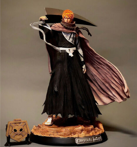 BLEACH Kurosaki Ichigo Resin Figure Statue GK Model Kits Monkey D Studio New