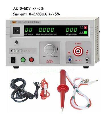 Dielectric Strength Tester Withstand Hi-pot Tester 5kv Ac 220v 100va Tester