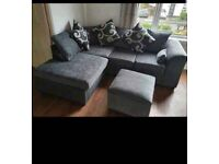 NEW CHENILLE FABRIC BARCELONA NOW AVAILABLE IN CORNER OR 3+2 SOFA SET