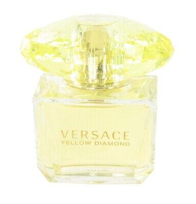 Yellow Diamond Versace Women 3.0 3 oz 90 ml Eau De Toilette Spray Tst Bottle Cap